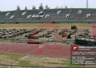 Geotextile Non Woven Stadion Manahan Solo Jawa Tengah