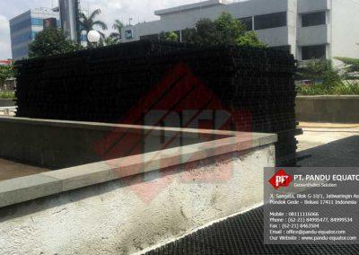 Drainage Cell Roof Garden Nine Residence Jakarta