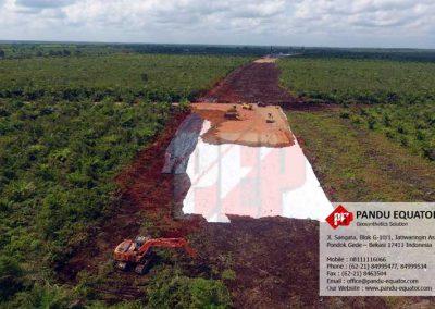 Woven Geotextile Tol Pematang Panggang Kayu Agung
