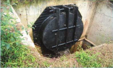 HDPE Flap Gate