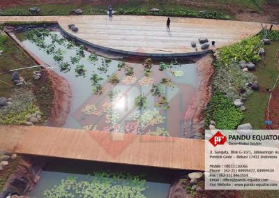 geomembrane kolam hias