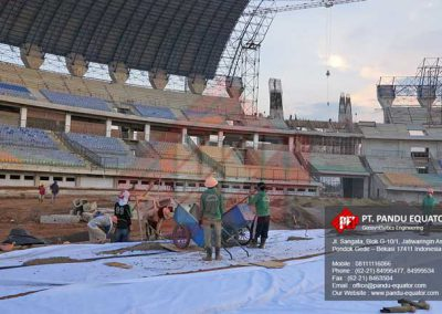 stadion gede bage Non Woven Geotextile