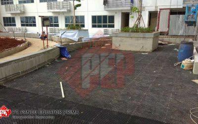Pemasangan Drainage Cell di Spring Lake Apartemen – Jakarta