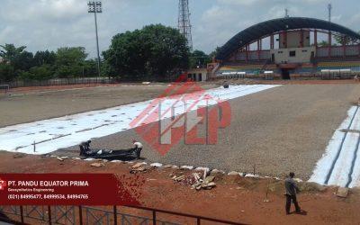 Pemasangan Geopipe / Drainage Pipe Untuk Stadion di Palembang