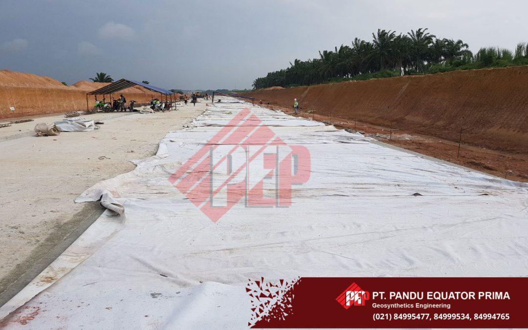 Curing Beton Menggunakan Non Woven Geotextile, Pada Proyek Tol di Provinsi Lampung