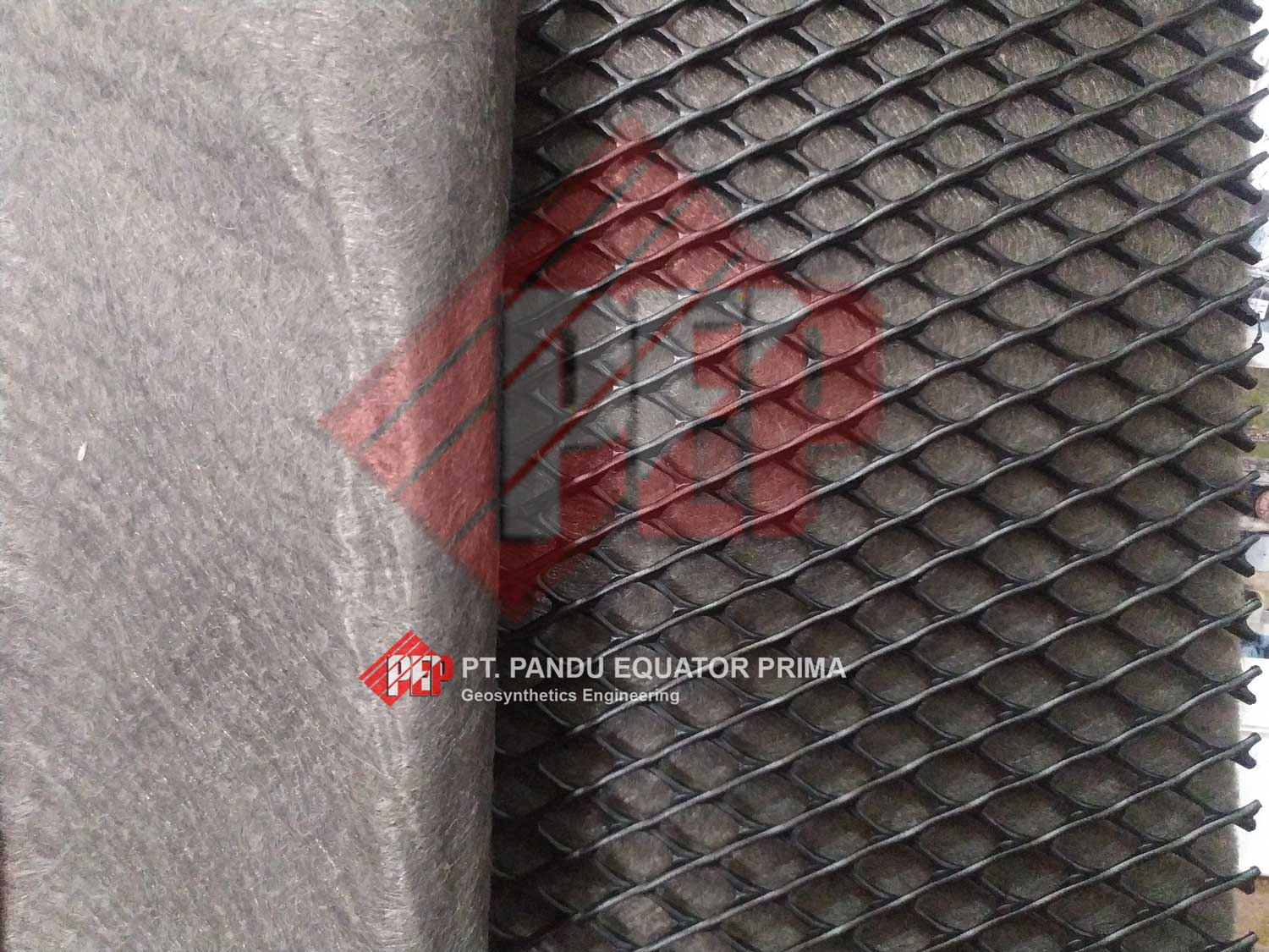 geotextile - geonet composite