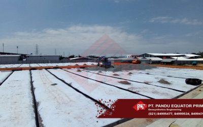 Pembangunan Subdrain / Underdrain Pada Proyek Jakarta International Stadium