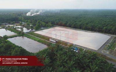 Penggunaan Geomembrane HDPE Pada Project Biogas di Kalimantan Tengah